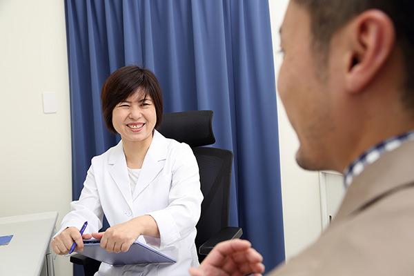 患者さまの心に寄り添った診療を大切にしたいと思ってます。